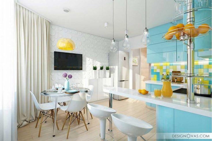 Дизайн кухни - 25 современных фото идей 2016 |  #кухня Интересно
