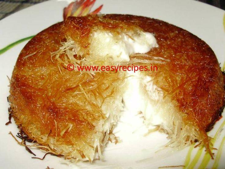 Kunafa (Arabic Sweet dessert)