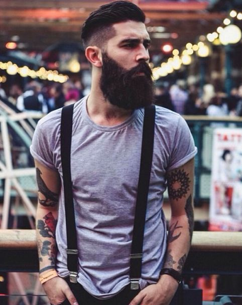 Growing a full beard is not a challenge now for most men. Period.