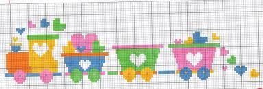 Risultati immagini per graficos em ponto cruz para bebe