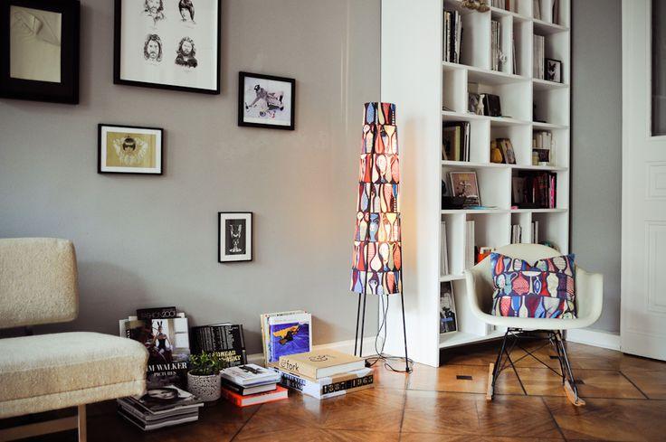 Ines Colmorgen + André Wyst — Unternehmerin und Art Director, Apartment, Berlin-Mitte.