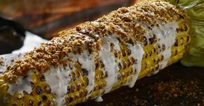 Season your corn on the grill with this fire-roasted corn on the cob recipe. This dish makes a great side to any summer cook-out.