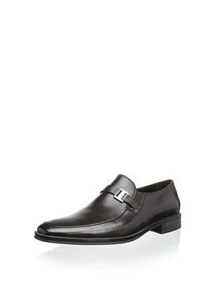 68% OFF Bruno Magli Men's Pivetto Loafer with Side Ornament (Dark Brown)