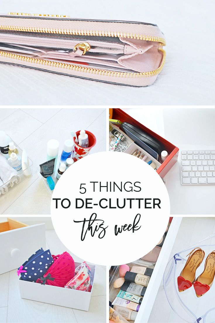 How to de clutter your beauty cabinet kendi everyday - 5 Things I De Cluttered This Week