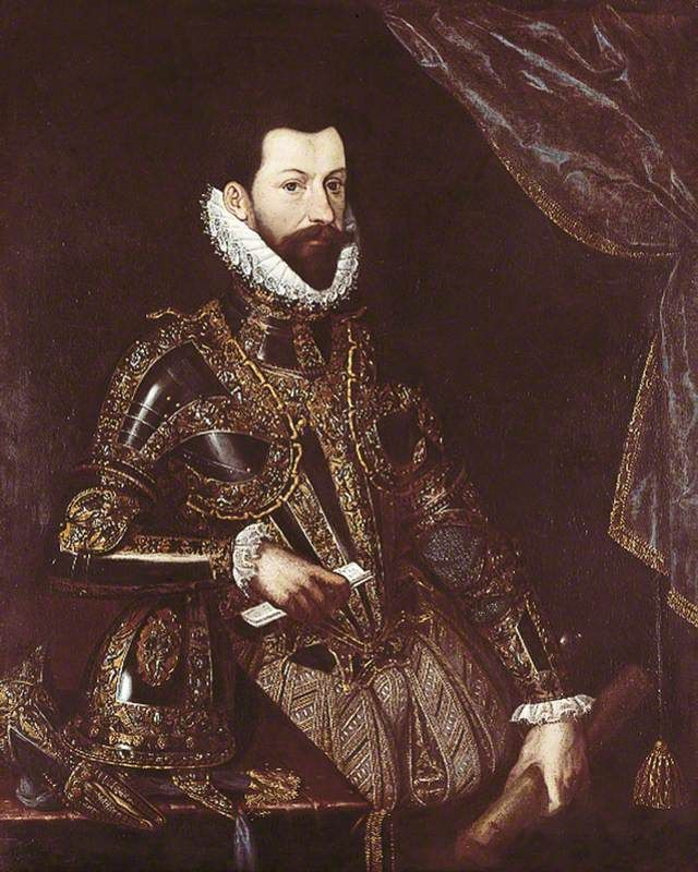 Alessandro Farnese (1545–1592) Duke of Parma and Piacenza (1586–1592), Governor of the Spanish Netherlands (1578–1592), in Armour. Italian School Royal Armouries Museum, Leeds.