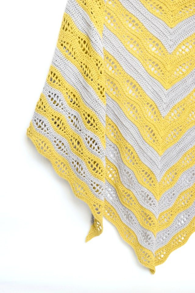 Hi everyone! I`m so excited to introduce you an easy to work and quick to grow highly satysfying crochet shawl. It was such a pleasure to design. Kalinda Shawl is a beautiful triangle-shaped wrap worked from top to down. I ...