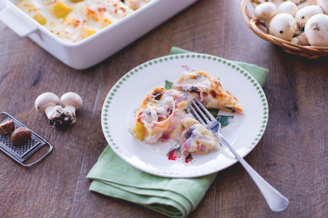 I nidi di rondine sono delle piccole girandole di pasta all'uovo farcita, un primo piatto gustoso e succulento che conquisterà i vostri commensali!