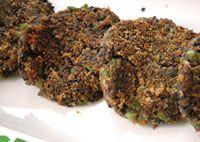 Bönburgare vegetariska burgare vegoburgare