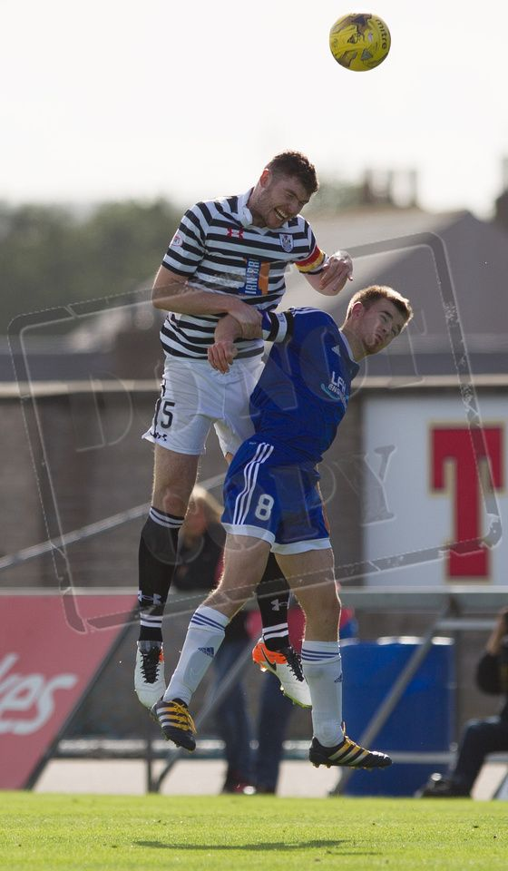 Queen's Park's Ryan McGeever in action during the Ladbrokes League One game between Peterhead and Queen's Park.