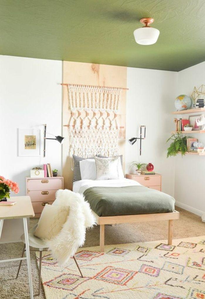 Les 25 meilleures idées de la catégorie Chambres vert olive sur ...
