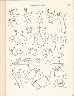 collar draping