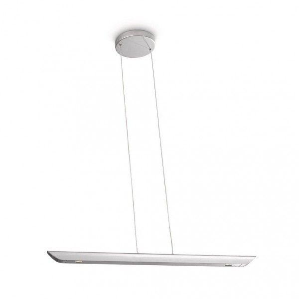 Technische Daten: Material: Aluminium Farbe: silber Leuchtmittel: 2 x Power LED, Energieeffizienzklasse A, inklusive Spannung: 230 V Leistung: 2 x 7,5 W Lichtfarbe: 2700 K warmweiß Lichtstrom: 2 x 350 lm...