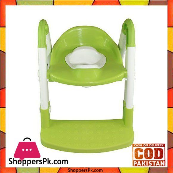 On Sale: A+B Potty Seat Chair Step with Adjustable Ladder Price Rs. 2000 https://www.shopperspk.com/product/ab-potty-seat-chair-step-with-adjustable-ladder/
