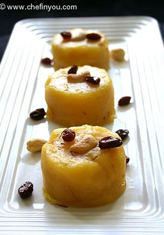 Moong Dal Halwa  Delicious and creamy Moong Dal Halwa or Yellow Lentil Pudding is a Indian dessert delicacy that served during festive occasions such as Holi, Diwali and wedding ceremonies. Slow cooking the Moong dal paste in ghee gives a velvety and creamy texture to the Halwa.  #MoongDalHalwa