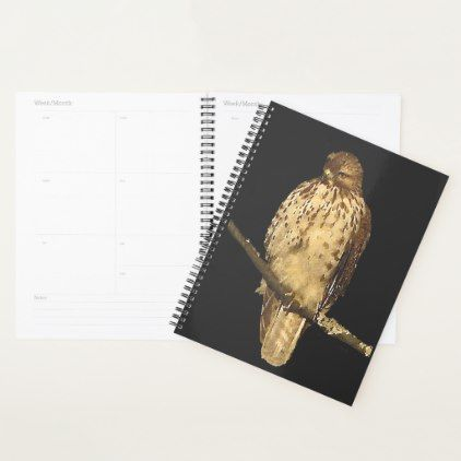 #Red Tailed Hawk Bird Animal Nature Planner - #office #gifts #giftideas #business