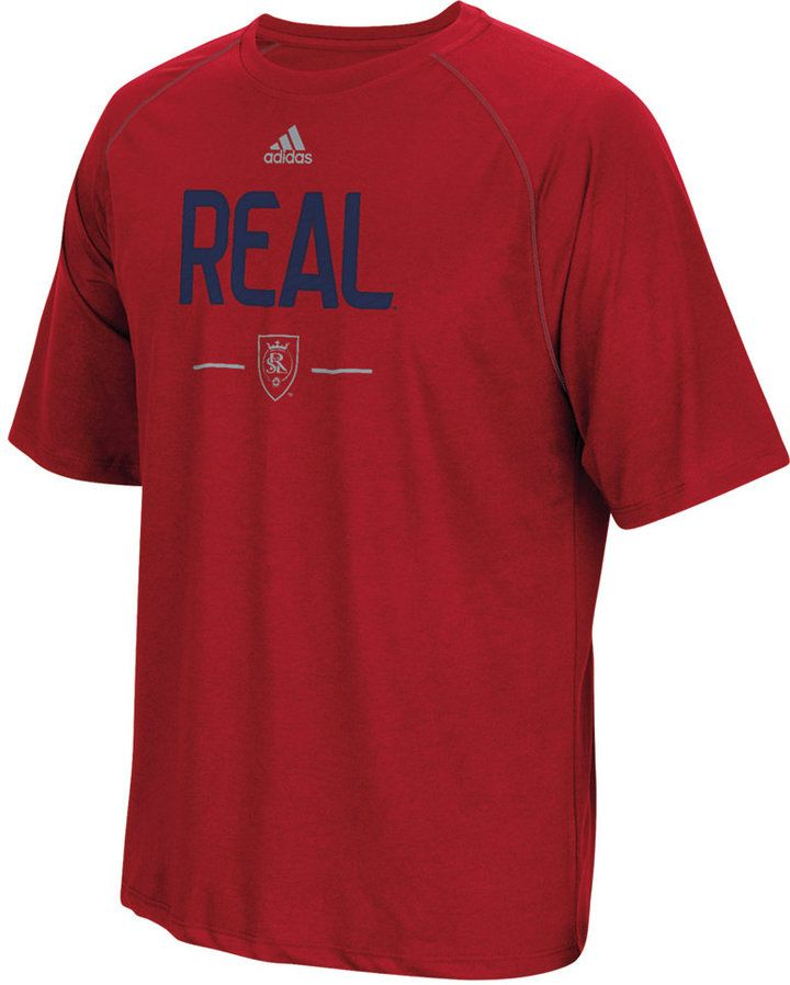 adidas Men's Real Salt Lake ClimaLITE T-Shirt