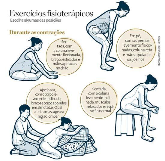 exercicios para a hora das contrações