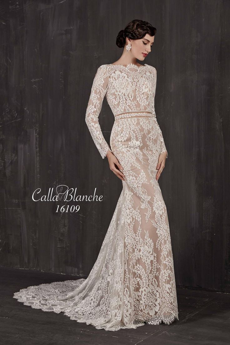 One of our new styles arriving soon from our new designer Calla Blanche.