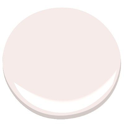 This was a great pick for a nursery - it is so subtle yet so feminine - a great backdrop for vivid colors being used elsewhere!  This sleeve of Benjamin Moore pinks is turning out to be a true winner - pink being one of the most difficult colors to choose.    -  Benjamin Moore Pink Bliss, 2093-70