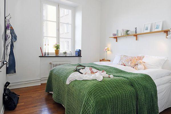 Freshome - Gothenburg Apartment: Interior Design, 19 Charming, Dream House, Gothenburg Apartment, Scandinavian Style, White Bedrooms, Apartment 19, Apartments, Bedroom Ideas