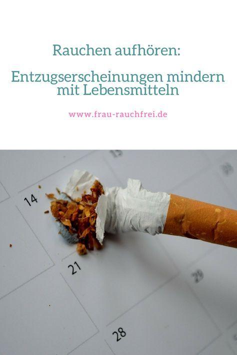 Immer wieder höre ich von den Frauen, die mit dem Rauchen aufhören wollen: Wie kann ich Entzugserscheinungen mindern? Deshalb hier die Lebensmittel, die Dir beim Rauchstopp helfen!