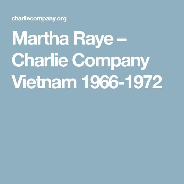 Martha Raye – Charlie Company Vietnam 1966-1972