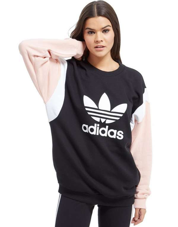 adidas Originals Colour Block Crew Sweatshirt $80