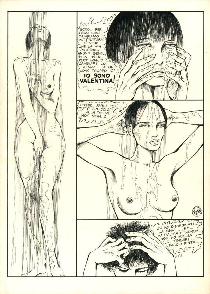 Guido Crepax: Valentina, Histoire d'un histoire, 1981