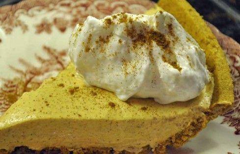 Pumpkin Spice No-Bake Cheesecake~Gluten Free Easily | Pumpkins, All ...