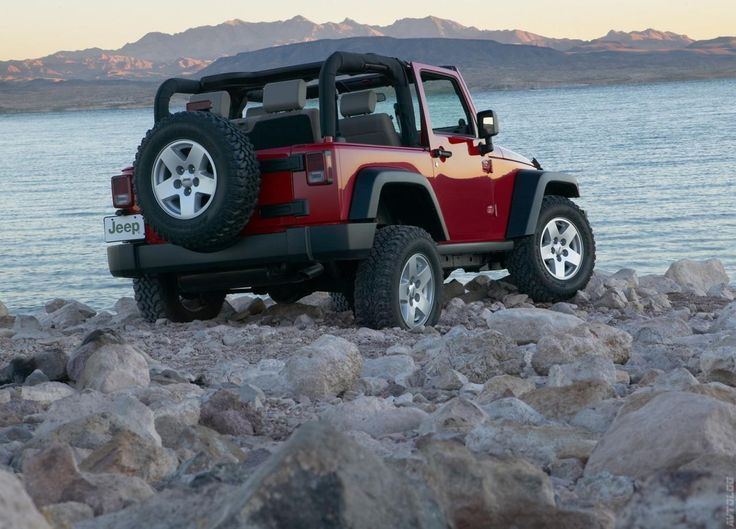 2007 Jeep Wrangler Rubicon Red Jeep Wrangler Jeep Wrangler Red