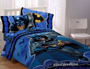 cool Batman Theme Wall Decor For Your Kid's Bed room