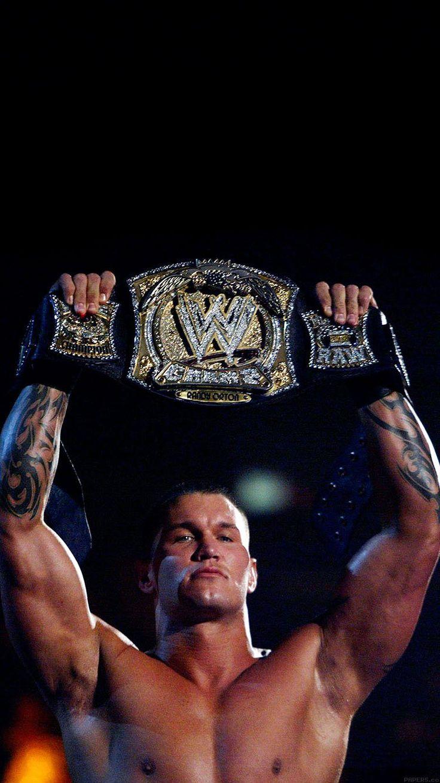 WALLPAPER RANDY ORTON WITH BELT WWE WALLPAPER HD IPHONE