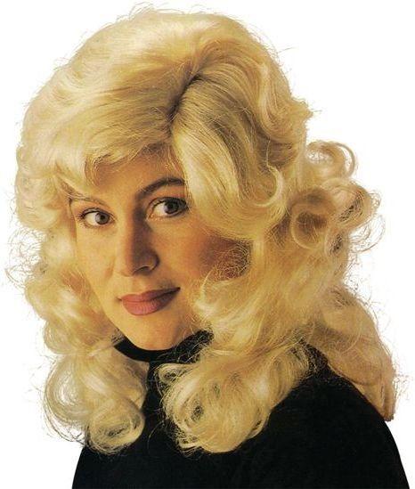 Dolly Parton Wig. Blonde (Music , 1970S Fancy Dress Wigs)