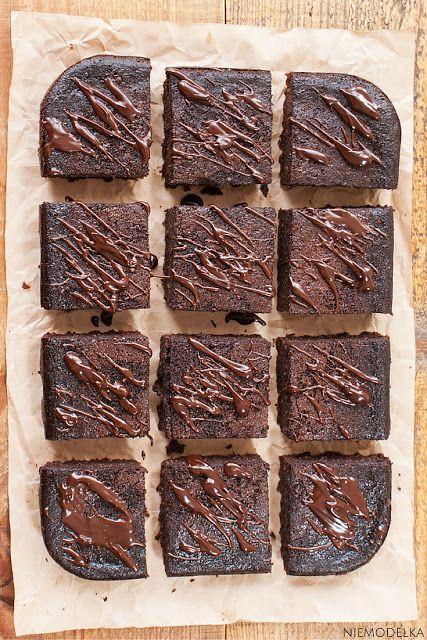 Bezglutenowe brownie z kaszy jaglanej. Gluten free brownie