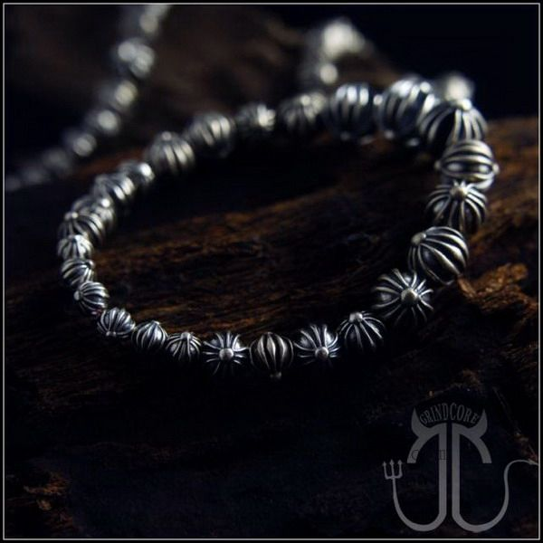 Chrome Hearts Bracelet Silver Cross Beads Low Price Online http://www.tradechromehearts.com/