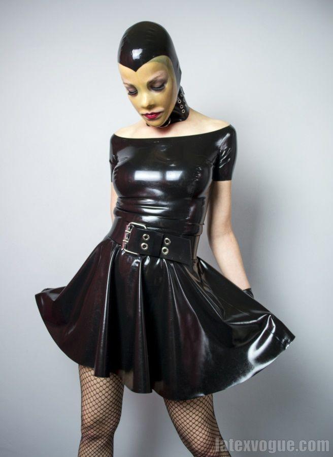Romantic latex dress 🤩 More at: http://www.shop.latexvogue.com/ #latexdress #blacklatex #latexvogue #latexdesigner #latexshop #kinky #fetishfashion