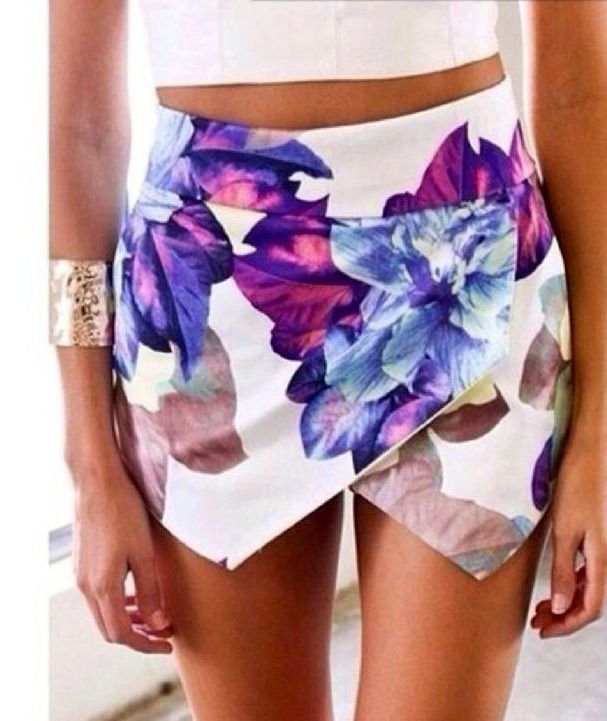 P.S. I Love You More Boutique | Floral Tiered Skort | Summer Fashion 2014 www.psiloveyoumoreboutique.com
