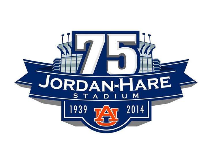 75th Anniversary logo for Jordan-Hare Stadium.