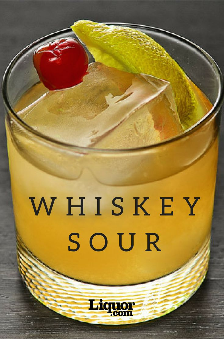 The Whiskey Sour is one classic cocktail that won't make you sour.