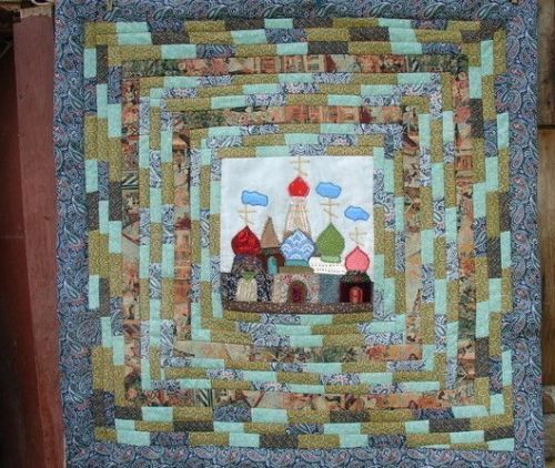 Handmade-Vintage-Quilt-Patchwork-Hand-made-105-x-105