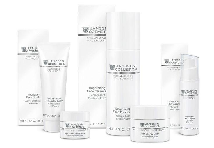 Demanding Skin Products by Janssen Cosmetics http://www.janssen-cosmetics-shop.ie/janssen-cosmeceutical/face/demanding-skin.html