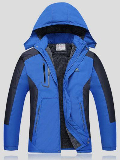 Detachable Hood Mens Ski Jacket,Cheap Trendy on Sale!