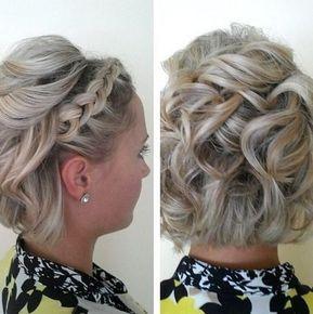 Frisuren Festlich Kurze Haare Brautfrisur Mittellangehaare