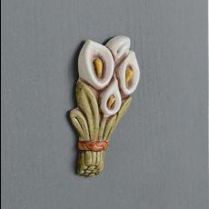 3,00+ Accessori Bomboniere Mignon Segnaposto (magneti, calamite, spille) - Vendita ceramica decorata a mano