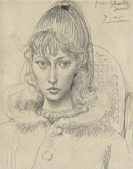 Picasso -Sylvette Davis,1954