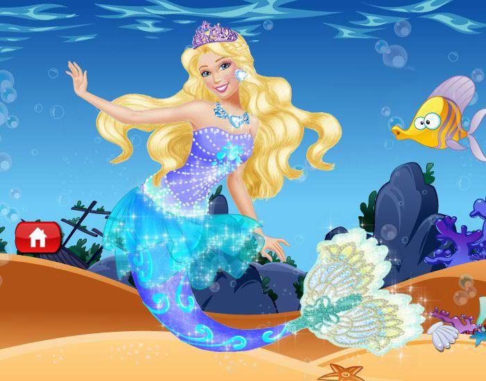 Barbie mermaid Princess Lumina.