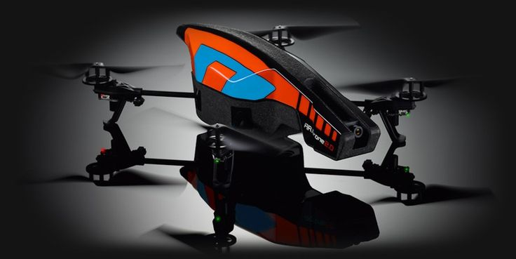 Parrot AR.Drone 2.0.  HD video and stills, control from iPhone or iPad - how cool is this?