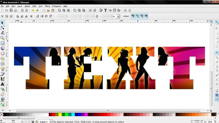 how to create vector images gimp