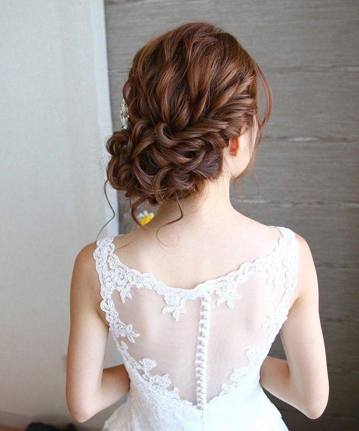 Best 25 Low  updo  hairstyles  ideas on Pinterest Low  side