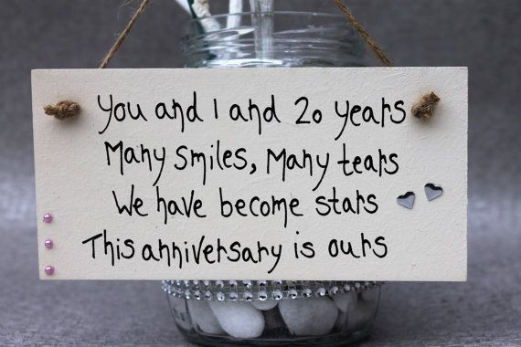 20th Wedding Anniversary - 20th Wedding Anniversary Personalized - 20th Anniversary Personalized - 20th Anniversary - 10th